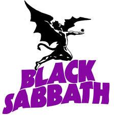 Black Sabbath - Logo Paranoid Heavy Metal OZZY Sticker or Magnet
