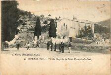 CPA  Bormes-les-Mimosas - Vieille Chapelle de Saint-Francois-de-Paul  (635365)