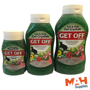 Get Off My Garden + Paving Cat & Dog Gel Crystals Repellent Stop Cats Fouling