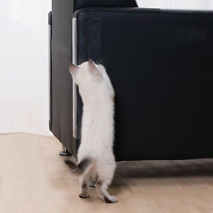 New 4PCS 47 X 15cm Pet Couch Protect Cat Scratch Guard Furniture Sofa Protector