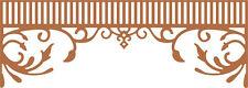Cheery Lynn Designs Die ~ Southern Charm Valance ~ B454 ~ Swirls ~ SALE