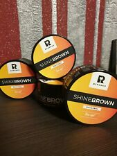 Byrokko SHINE BROWN -Solariumcreme NEU + Byrokko Aloe Aftersun PROBE GRATIS