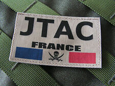 Snake Patch - JTAC FRANCE - CFAA laser COS forces spéciales CPA 10 AIR TAN