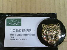 JAGUAR EMBLEM BLACK BACK GROUND WITH GOLD CAT