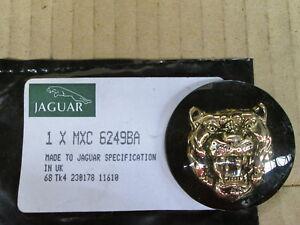 JAGUAR EMBLEM BLACK BACK GROUND WITH GOLD CAT