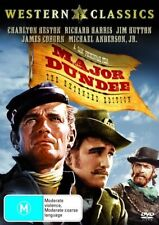 Major Dundee Extended Edition R4 DVD New & Sealed FREE POST