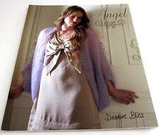 Debbie Bliss ANGEL Knitting Yarn Pattern Book with 8 Romantic Designs for Women