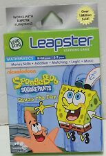 Leap Frog spongebob Leapster learning game new Math 5-7years Leapfrog NIB
