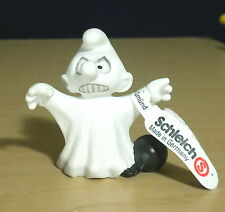 Smurfs Halloween Ghost Smurf Germany Rare Vintage Classic Toy Figure PVC 20542