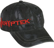 Kryptek Typhon Camo Red Spartan Helmet & Logo Ball Cap/Hat Snap Closure One Size