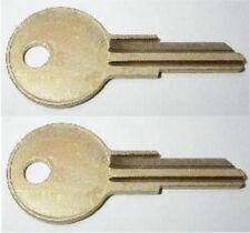 (2) HUSKY Home Depot Tool Box Keys Pre-Cut To Your Key Code Codes B01-B05