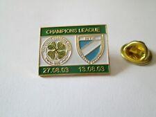 a1 CELTIC - MTK BUDAPEST cup uefa champions league 2004 football calcio pins
