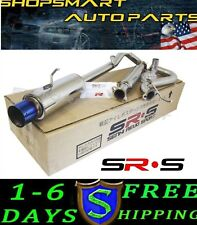 SRS 05-08 06 07 CHEVY COBALT SS STAINLESS CATBACK EXHAUST 2.0L / 2.4L BURNT TIP