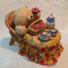 Forever Friend Bear Teatime Figurine by Andrew Brownsword