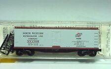 ~ MTL- 49170 ~ NORTH WESTERN ~ 40' WOOD ICE REEFER ~