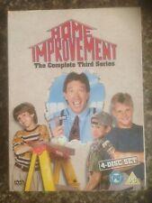 Home Improvement - Series 3 - Complete (DVD, 2006, 4-Disc Set, Box Set) Region 2