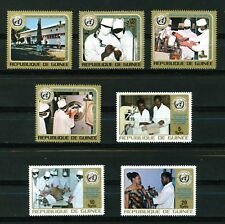 Guinea Republic 1973 25th Anniversary of W.H.O. full set of stamps. Mint.