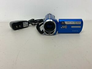 JVC Everio Camcorder GZ-MS230AU Camcorder Blue with Charger