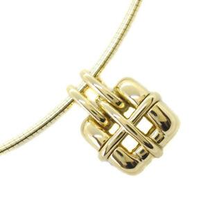 TIFFANY&Co. choker Necklace K18 yellow gold Women