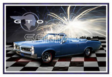 1966 66 Pontiac GTO Convertible Poster Print