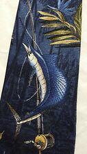 Tango Sailfish Mens Necktie Fishing Silk Tie Sea Fish Fisherman New