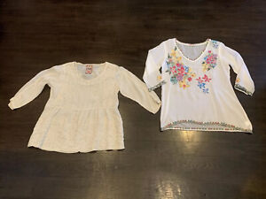 Authentic Women's Mixed Lot of Johnny Was Blouses Tops Beautiful Size XS RARE!