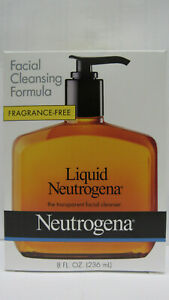 Neutrogena Liquid Facial Cleansing Formula 8 oz/236ml Fragrance Free