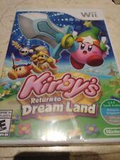 Kirbys Return to Dreamland Nintendo Wii Brand New and Sealed (UAE Version) [E10+