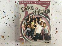 FISICA O QUIMICA EN DVD TERCERA 3ª TEMPORADA CON 4 DISCOS   AM