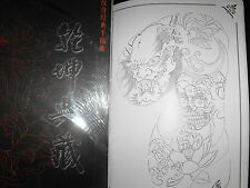tattoo designs flash book a3 size 60pages of mixed oriental flash very nice book