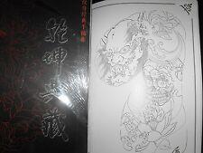 Diseños de Tatuajes Libro de Flash a3 Talla 60 páginas de mezclado oriental Flash Libro Muy Bonito