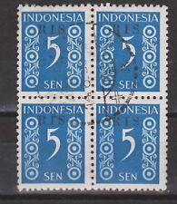 Indonesie Indonesie 46 RIS sheet CANCEL DJAKARTA 1950 R.I.S Serikat