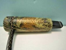 Knight & Hale Camouflage Crow Call, Model 402, With Braided Lanyard.