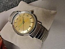 Timex 100 mens Old Timer watch 60's nice condition sweep second hand man wind