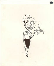 CBLDF #103 - Fantagraph Comics - Pizza - Sold as a Pair - art by Peter Bagge Comic Art