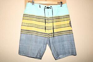 "Hurley Hombre 30"" Cintura 100% Recycled-Polyester Boardshorts/Surf/Natación"
