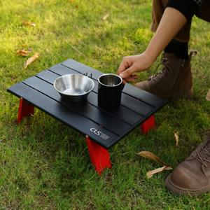 Outdoor Mini Folding Portable Table BBQ Camping Picnic Garden Aluminium Desk