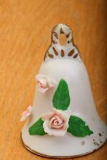 Pink Flower With Green Leaves Bell Vintage