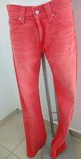 Jeans Levi's 506 standard W33 L34 Red