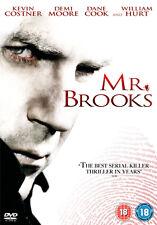 MR BROOKS - DVD - REGION 2 UK