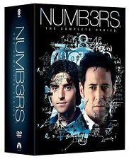 NUMB3RS:  Complete Series Season 1-6 -  31-DISC DVD SET (Numbers)  **US SELLER**