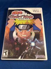 Nintendo Wii Shonen Jump Naruro Clash Of Ninja Revolution