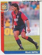 N°042 NICOLO NAPOLI # ITALIA CAGLIARI JUVENTUS STICKER TUTTO CALCIO 1995 SL
