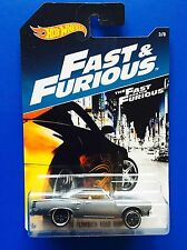2017 Hot Wheels FAST AND FURIOUS 1970 PLYMOUTH ROADRUNNER COUPE - mint on card!