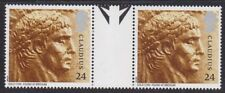 GB Emperor Claudius - Roman Britain - Gutter Pair of 24p Stamps 1993 MNH