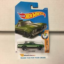 '68 El Camino #333 * Green * 2017 Hot Wheels Case P * C27