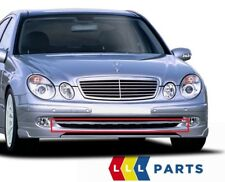 NUOVO Originale Mercedes Benz MB E Class W211 paraurti anteriore coperchio inferiore striscia preparata