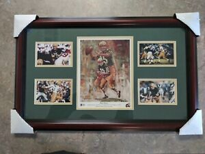 Rare Bart Starr Autographed Green Bay Packers Signed 8x10 Combo Collage COA