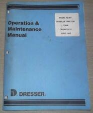 DRESSER TD9H TRACTOR DOZER OPERATOR OPERATION & MAINTENANCE MANUAL BOOK ORIGINAL
