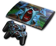 PS3 PlayStation 3 Super Slim Skin Design Aufkleber Schutzfolie - Zombie Trooper